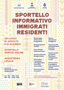 Sportello Informativo Palazzo San Gervasio –  Montemilone